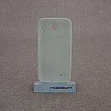 Чехол TPU Duotone HTC Desire 300 white, фото 2