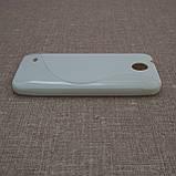 Чехол TPU Duotone HTC Desire 300 white, фото 4