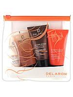 Подарочный набор Delarom Face Cleansing Gel ; Moisturizing Body Lotion ; Acquaconfort Cream (пробники)