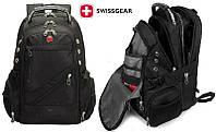 Швейцарский городской рюкзак SwissGear 8810 с AUX и USB выходами, непромокаемый, фото 1