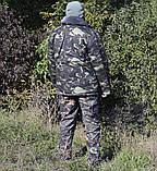 Бушлат камуфляж зимний мех + синтепон р.48-58, фото 4