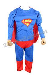 Костюм Супермен об'ємний р-р L