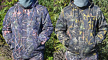 Куртка зимова під гумку Дубок з капюшоном хутро + синтепон р. 48-58 50