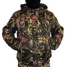 Куртка зимова під резинку Дубок з капюшоном р. 48-58