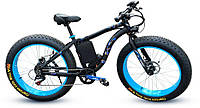 Электровелосипед LKS fatbike Синий 750 (20181116V-31) КОД: 333035