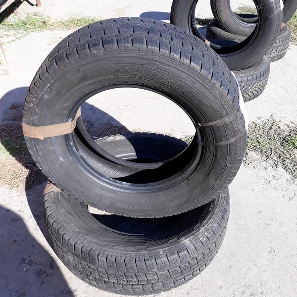 Бусовские шины б.у. / резина бу 235.65.r16с Hankook Winter RW06 Хенкок