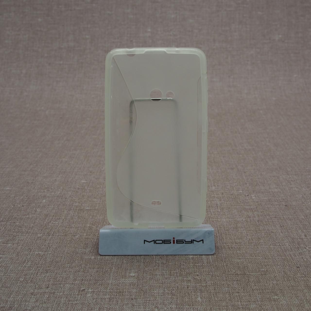 TPU Duotone Nokia 625 soft-clear Для телефона