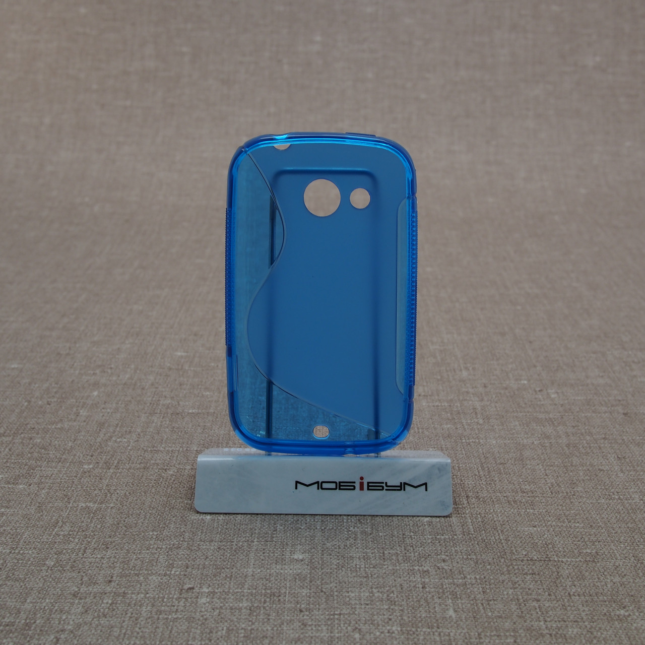 Чехол TPU Duotone HTC Desire C light-blue