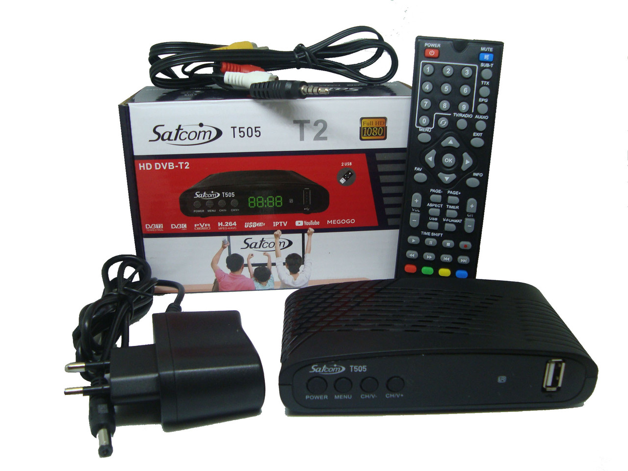 Приставка T2 Satcom T505