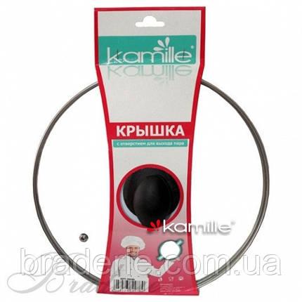 Крышка стеклянная Kamille КМ-0640 L, фото 2