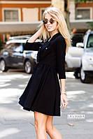Платье двубортное на пуговицах, фото 1