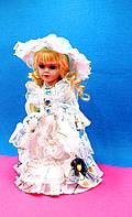 Кукла в голубом - сувенирная, коллекционная, фото 1