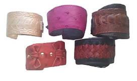 Браслет з шкіри страуса Ekzotic leather Різнобарвний (ob01)