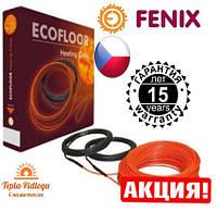 Электрический теплый пол Нагревательный кабель Fenix 2.3-3.3 м2