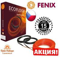 Электрический теплый пол Нагревательный кабель Fenix 3.3-4.7 м2