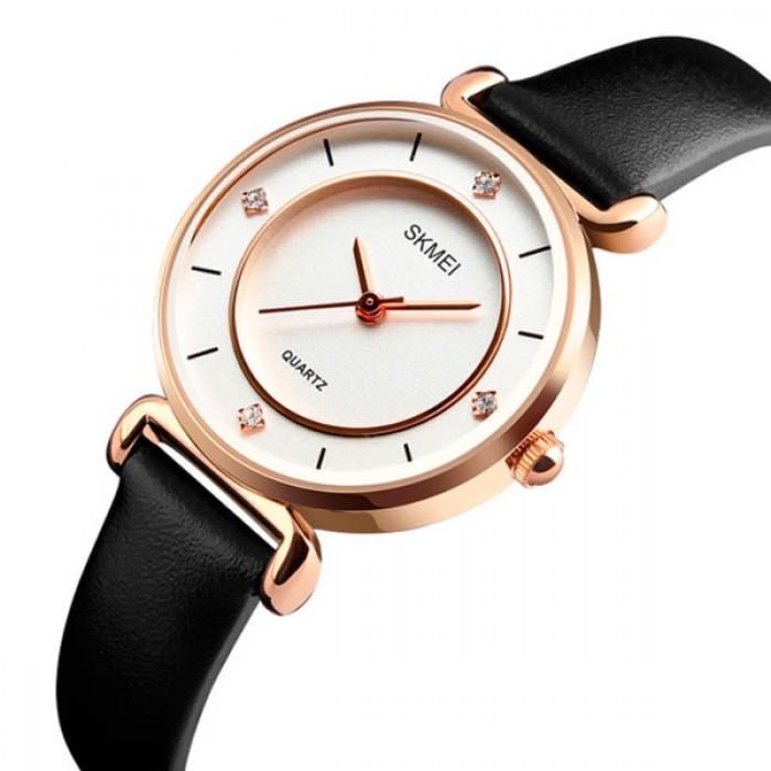Женские часы Skmei Batterfly White Оригинал + Гарантия!