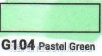 Маркер SKETCHMARKER долото-тонкое перо G104 Pastel Green Пастельный зеленый