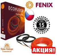 Электрический теплый пол Нагревательный кабель Fenix 4.6-6.4 м2