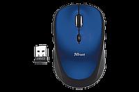 Мышка TRUST Yvi FX wireless mouse - blue, фото 1