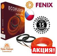 Электрический теплый пол Нагревательный кабель Fenix 9.4-13.2 м2