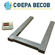 Весы паллетные  Днепровес ВПД-П Эконом (500 кг)