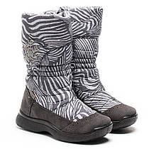 """Зимние теплые мембранные сапожки для девочек ТМ """"Тигина"""" (производитель Флоаре), размер 28-37"""
