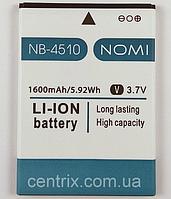 Аккумулятор (батарея) Nomi i4510, NB4510