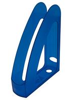 """Лоток пластиковий для паперу АРНИКА """"Радуга"""", синій, 230х80х300 мм (80533)"""