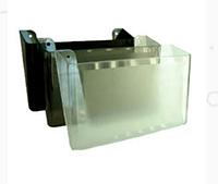 Лоток пластиковий для паперу настінний АРНИКА, чорний 300х230х80 мм (80703)