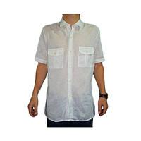 Рубашка мужская оптом белая