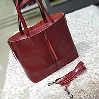 Женская  винная сумочка из натуральной кожи, фото 1