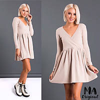 Платье с завышенной талией / ангора / Украина 7-2-818, фото 1