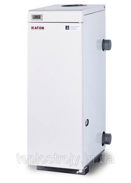 Котел газовый напольный ATON Atmo АОГВМ 12,5 Е одноконтурный дымоходный