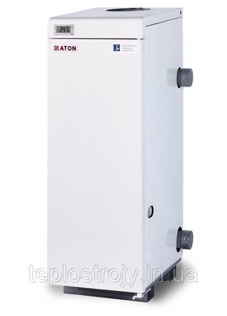 Котел газовый напольный ATON Atmo АОГВМ 25 ЕВ двухконтурный дымоходный