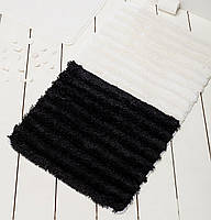 Коврик для ванной 60х100  Chilai Home Soft Black