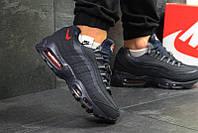 d8a5153c Nike air max 41-46 Кожа зимние кроссовки ботинки на густом меху мужские кожа  Зима