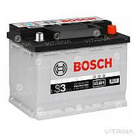 Аккумулятор BOSCH 56Ah-12v S3005 (242x175x190) со стандартными клеммами | R,EN480 (Европа)