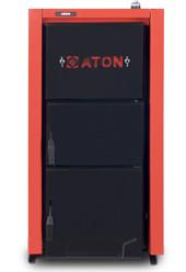 ATON Multi 20 кВт стальной твердотопливный котёл + регулятор тяги