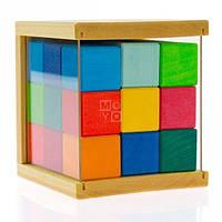Конструктор деревянный nic кубики 27 деталей (nic523303)