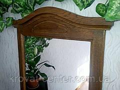 """Зеркало в дубовой рамке """"Жизель"""" (лесной орех), фото 2"""