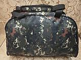 (29*43*19)Спортивная дорожная сумка камуфляж большой world of tanks только ОПТ, фото 4