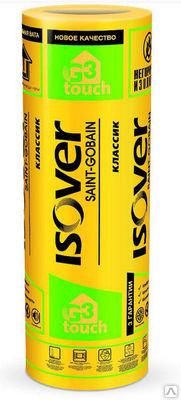 Утеплитель Isover KT Классик Стекловата 50 мм 1220*6150*2 (20.01 м2)