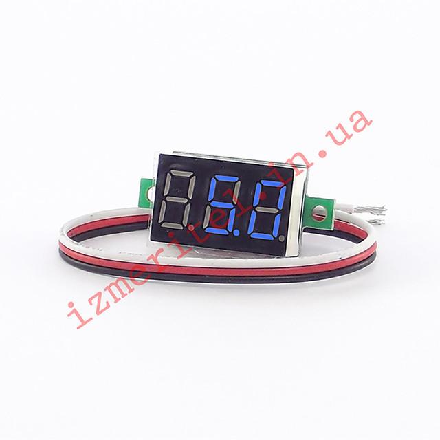 Цифровой вольтметр DC 0-40 В