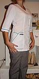 "Медицинский костюм ""Двойной кант"" 22105 (батист), фото 4"