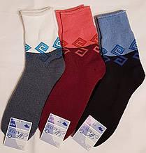 Житомирські махрові шкарпетки з відворотом - жіночі 23-25 розмір