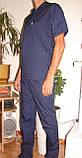 Медицинский костюм мужской 22106 (батист), фото 3