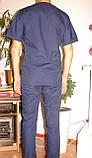 Медицинский костюм мужской 22106 (батист), фото 4