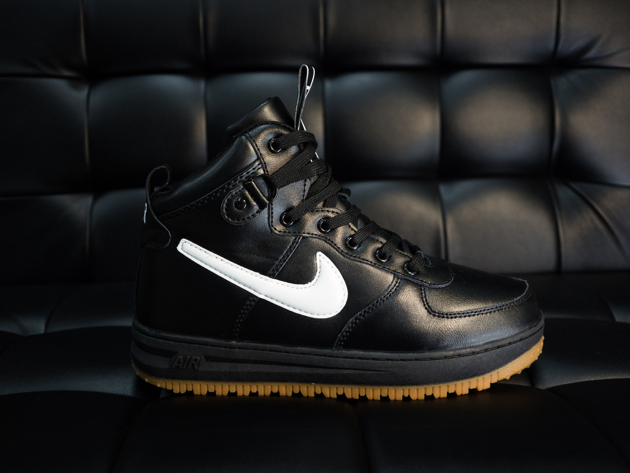 a417dc99 Зимние Кроссовки Nike Lunar Force 1 Duckboot на меху! - Интернет магазин  Big Bob в