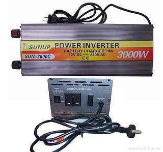 Автомобильный инвертор 12/220 2000 ватт
