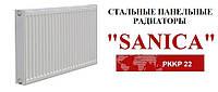 Cтальной  радиатор SANICA тип 22K 500*600